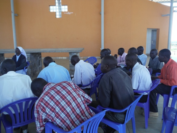 Sr Margaret Pirango facilitates an afternoon session on family life